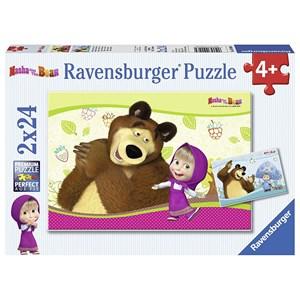 "Ravensburger (09046) - ""Masha and the Bear"" - 24 pièces"