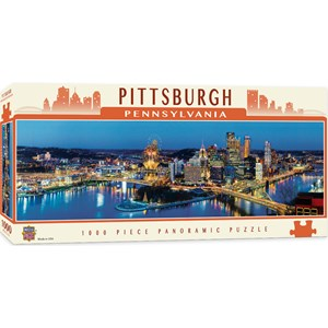 "MasterPieces (71589) - James Blakeway: ""Pittsburgh"" - 1000 pièces"