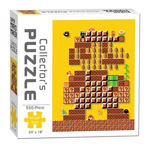 """USAopoly (PZ005-478) - """"Mario Maker #1 Puzzle"""" - 550 pièces"""