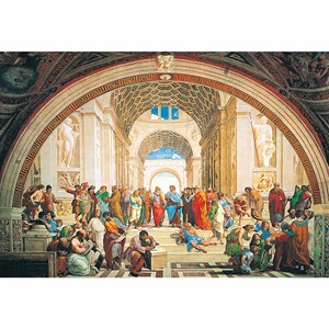 "Clementoni (31404) - Raphael: ""The School of Athens"" - 1000 pièces"