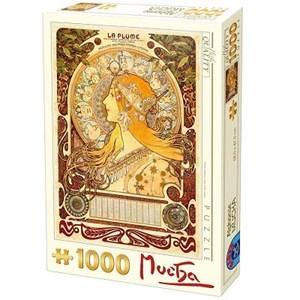"D-Toys (66930-MU02) - Alphonse Mucha: ""Zodiaque"" - 1000 pièces"