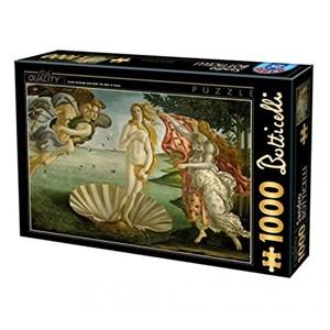 """D-Toys (66954-RN04) - Sandro Botticelli: """"La Naissance de Venus"""" - 1000 pièces"""