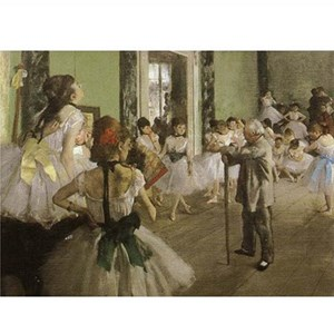 "D-Toys (66961-IM03) - Edgar Degas: ""Dance Examination"" - 1000 pièces"
