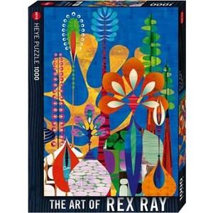 """Heye (29599) - Rex Ray: """"Maxerela Art Flowers"""" - 1000 pièces"""