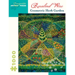 """Pomegranate (AA924) - Rosalind Wise: """"Geometric Herb Garden"""" - 1000 pièces"""