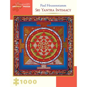 "Pomegranate (AA931) - Paul Heussenstamm: ""Sri Yantra Intimacy"" - 1000 pièces"