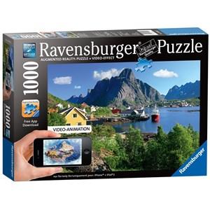 "Ravensburger (19303) - ""Lofoten Norway"" - 1000 pièces"