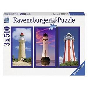 "Ravensburger (16277) - ""Imposing Lighthouses"" - 500 pièces"