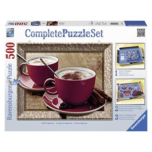 """Ravensburger (14892) - """"Time for Cappuccino"""" - 500 pièces"""