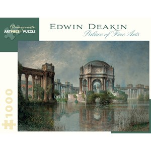 """Pomegranate (AA900) - Edwin Deakin: """"Palace of Fine Arts and the Lagoon"""" - 1000 pièces"""