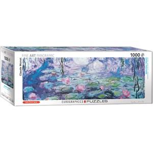 """Eurographics (6010-4366) - Claude Monet: """"Les Nymphéas"""" - 1000 pièces"""