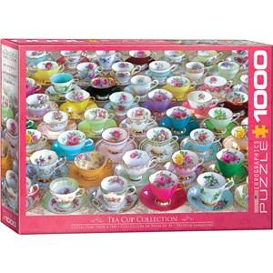 """Eurographics (6000-5314) - """"Collection de Tasses à Thé"""" - 1000 pièces"""