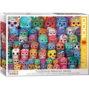 """Eurographics (6000-5316) - """"Crânes Traditionnels Mexicains"""" - 1000 pièces"""