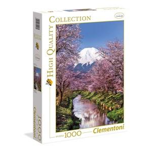 """Clementoni (39418) - """"Fuji"""" - 1000 pièces"""