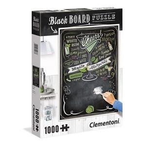 """Clementoni (39467) - """"Tableau Noir - Cheers"""" - 1000 pièces"""