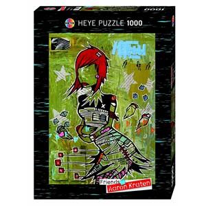 "Heye (29417) - Aaron Kraten: ""Redhead"" - 1000 pièces"