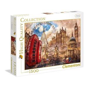"""Clementoni (31807) - """"Londres"""" - 1500 pièces"""