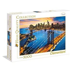 "Clementoni (33546) - ""New York"" - 3000 pièces"