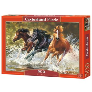 """Castorland (B-51823) - Bonnie Marris: """"Splash"""" - 500 pièces"""