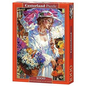 """Castorland (C-103294) - Alexander Lashkevich: """"Chrysanthemums in the Garden"""" - 1000 pièces"""