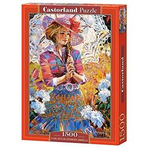 "Castorland (C-151363) - Alexander Lashkevich: ""A Girl with an Openwork Umbrella"" - 1000 pièces"