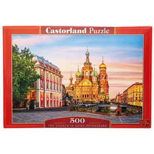 "Castorland (B-52257) - ""The Church In Saint-Petersburg"" - 500 pièces"