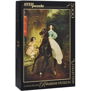 """Step Puzzle (85202) - Karl Brioullov: """"The Rider"""" - 3000 pièces"""