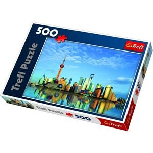 "Trefl (37163) - ""Shanghai, China"" - 500 pièces"