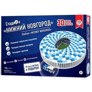"IQ 3D Puzzle (16554) - ""Stadium Nizhny Novgorod"" - 190 pièces"