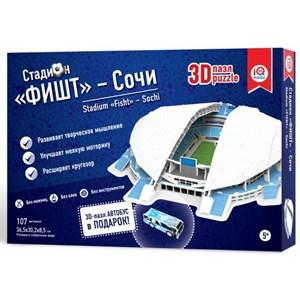 "IQ 3D Puzzle (16552) - ""Stadium Fisht, Sochi"" - 107 pièces"
