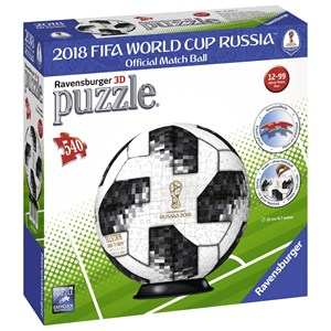 "Ravensburger (12437) - ""Matchball 2018 FIFA World Cup"" - 540 pièces"