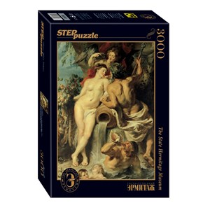 """Step Puzzle (85203) - Peter Paul Rubens: """"The Union of Earth and Water"""" - 3000 pièces"""