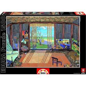 "Educa (15534) - Damian Elwes: ""Gauguin's Studio"" - 1500 pièces"