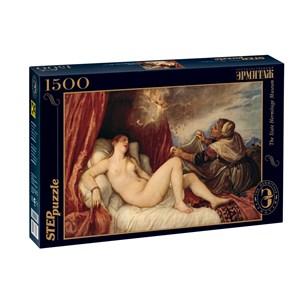 """Step Puzzle (83206) - Titian (Tiziano Vecelli): """"Danaë"""" - 1500 pièces"""