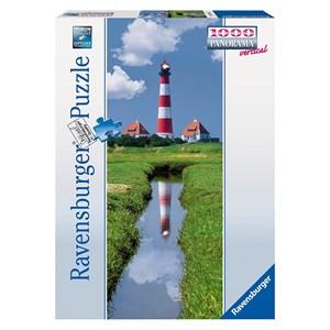 "Ravensburger (15093) - ""Westerhever Lighthouse"" - 1000 pièces"