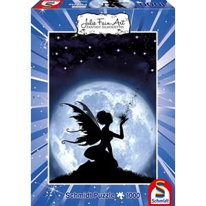 """Schmidt Spiele (59266) - Julie Fain: """"The Magic of the Stars"""" - 1000 pièces"""