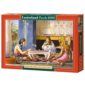 "Castorland (C-102778) - Lawrence Alma-Tadema: ""Egyptian Chess Players"" - 1000 pièces"