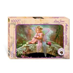 """Step Puzzle (79502) - Lisa Jane: """"Rare moment"""" - 1000 pièces"""