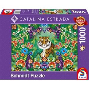 "Schmidt Spiele (59588) - Catalina Estrada: ""Bengal Tiger"" - 1000 pièces"