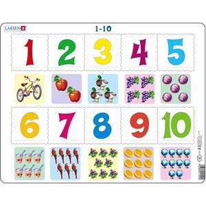 """Larsen (AR3-2) - """"Les Chiffres de 1 à 10"""" - 10 pièces"""
