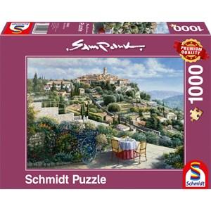"""Schmidt Spiele (59483) - Sam Park: """"Saint Paul de Vence"""" - 1000 pièces"""