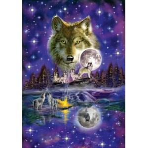 """Schmidt Spiele (58233) - """"Loup au Clair de Lune"""" - 1000 pièces"""