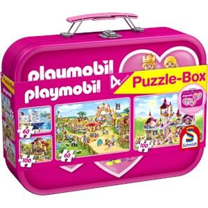 """Schmidt Spiele (56498) - """"Playmobil"""" - 60 100 pièces"""