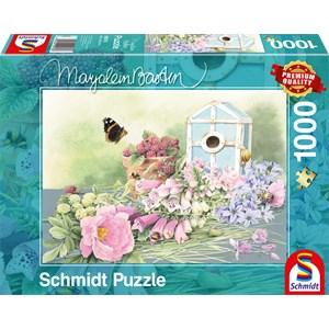 """Schmidt Spiele (59570) - Marjolein Bastin: """"Résidence d'Eté"""" - 1000 pièces"""