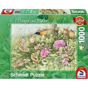 "Schmidt Spiele (59571) - Marjolein Bastin: ""Feast in the Meadow"" - 1000 pièces"
