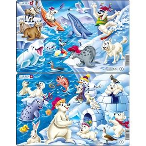 """Larsen (U17) - """"Animals in the Arctic"""" - 17 pièces"""