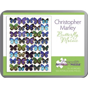 """Pomegranate (AA798) - Christopher Marley: """"Butterfly Mosaic"""" - 100 pièces"""