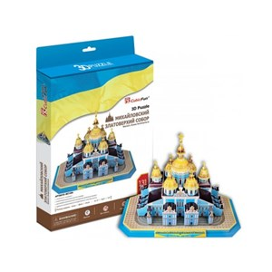 """Cubic Fun (MC130H) - """"St. Michael's Golden-Domed Monastery"""" - 131 pièces"""