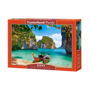 """Castorland (C-104154) - """"Ko Phi Phi Le, Thailand"""" - 1000 pièces"""