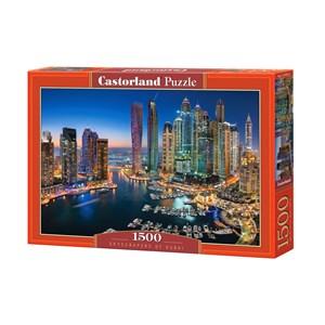"Castorland (C-151813) - ""Skyscrapers of Dubai"" - 1500 pièces"